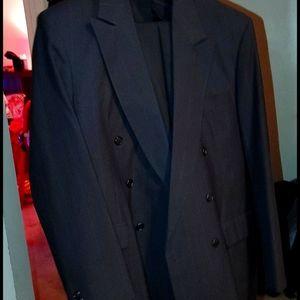 Towncraft size 34L black suit